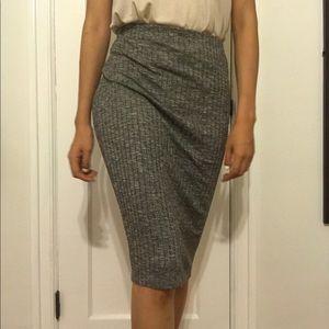 Abercrombie & Fitch Bodycon Midi Skirt